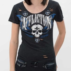 Affliction | Saints Flag Tee